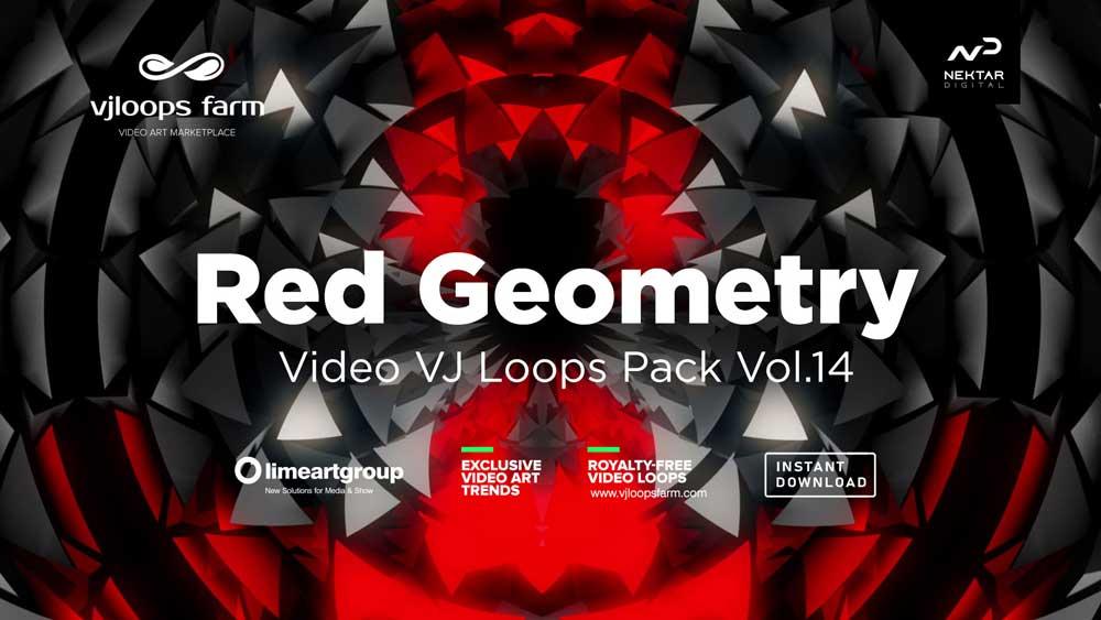 Red-Geometry-vj-loops