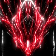 Red dazzling fireworks_visuals Abstract Background. Loop Animation_vj_loops_Layer