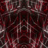Red star needles Abstract CGI motion graphics and animated background_vj_loops_Layer