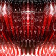 line red geometric pattern video art vj loop
