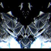 blue video art motion background