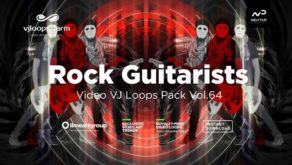 Rock-Guitarist-Video-Art-Vj-loop