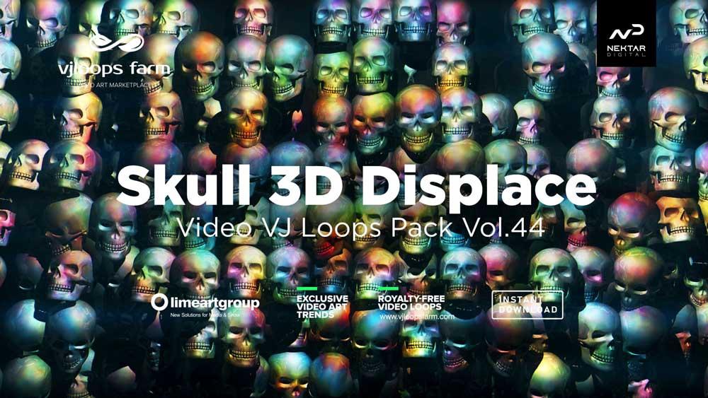Skull-displace-3d-vj-loops