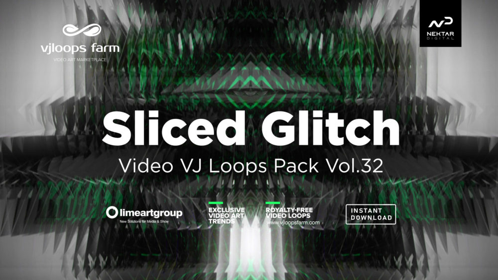 glitch background wallpaper vj loop