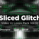 glitch background wallpaper vj loop