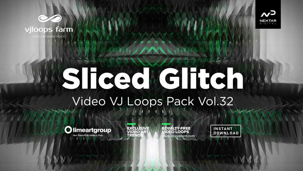 Sliced-Glitch-Vj-loops