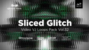 Sliced-Glitch-Vj-loops