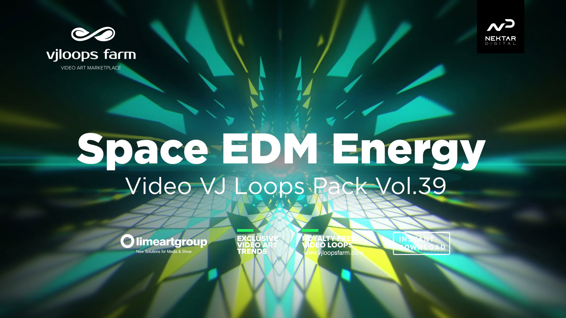 Space EDM ENERGY vj loop