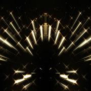Sparkling Twinkle stars in black sky_vj_loops_Layer