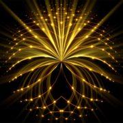 abstract sun gate light portal video footage vj loop