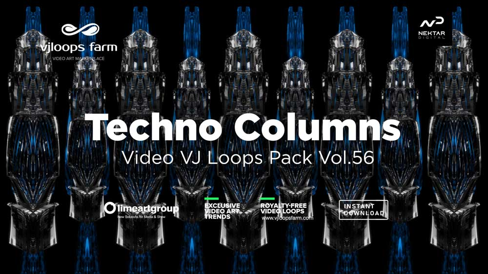 TechnoColumns-VJloops