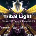 Tribal Light vj loops pack
