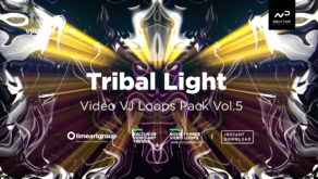 Tribal Light vj loops pack