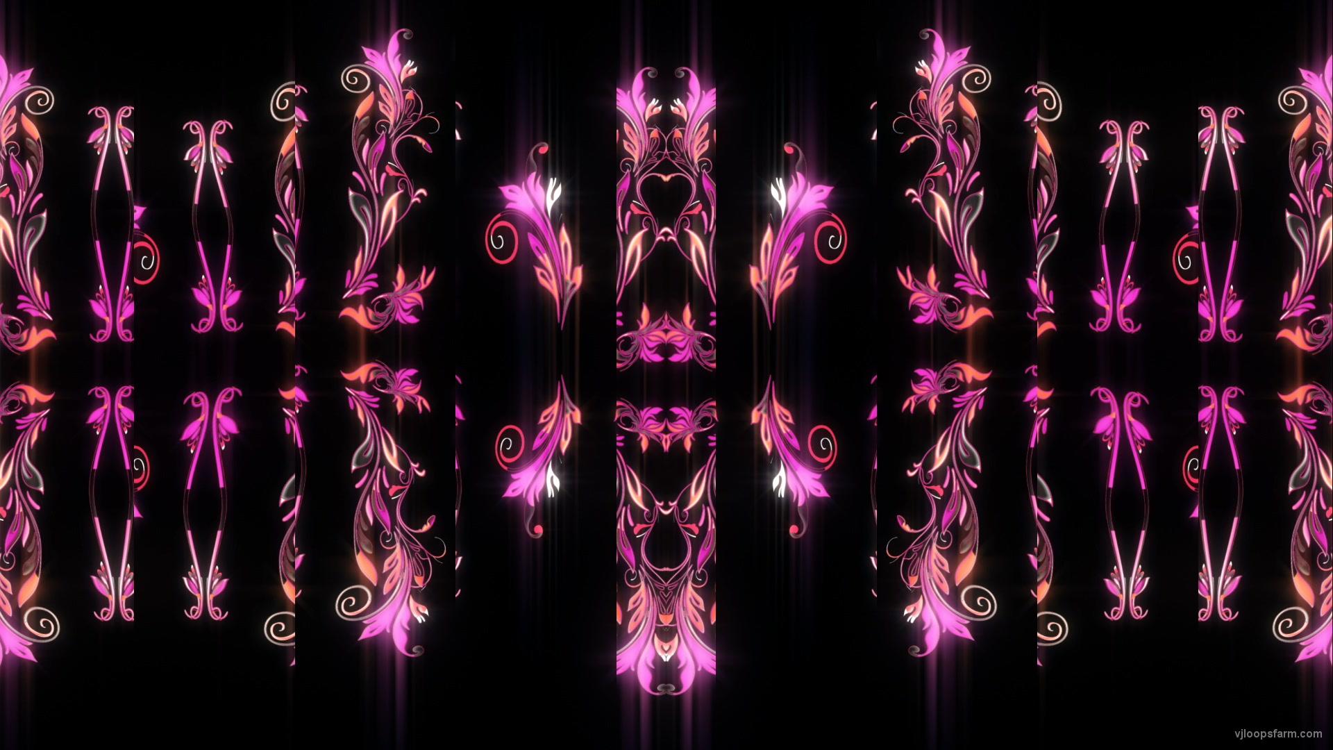 Psy Vintage Flame Decor Slide Glass Screen Video Art Vj Loop ...