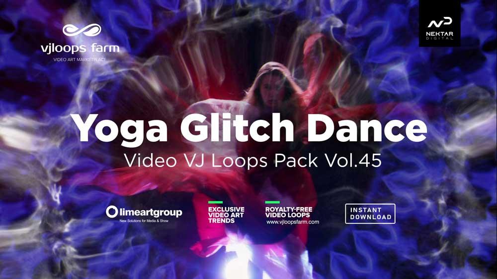 Yoga-Girl-VJ-loops-video-footage-glitch