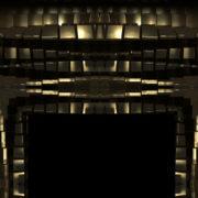 aureate bars moving randomly - loop background 1080p_vj_loops_Layer