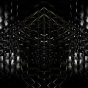 black Abstract motion background. Glass visuals vj loops Layer