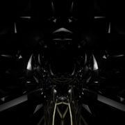 black Carbon Polygonal Background glass visuals vj loops Layer