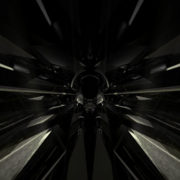 black Geometric abstraction on a background glass_visuals_vj_loops_Layer jpeg