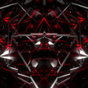 black and Red Carbon Polygonal Background glass_visuals_vj loops Layer