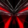 red tunnel animation video footage vj loop