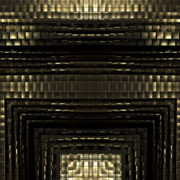 gilt 3D abstract animation of geometric atomic shape_vj_loops_Layer