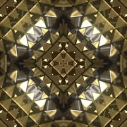 gleaming 3D abstract animation of geometric atomic shape_vj_loops_Layer