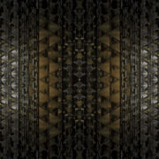 glittering 3D abstract animation of geometric atomic shape_vj_loops_Layer