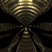 halcyon Abstract loop ripple gold 3d wave vj_loops_Layer