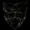 visuals low poly face mask video vj loop