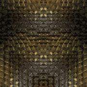 shiny Abstract loop ripple gold 3d flip_vj_loops_Layer
