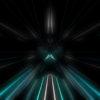 blue tunnel animation video footage vj loop