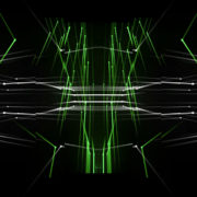 star needles motion graphics and animated background with 3D shapes vj loops Layer