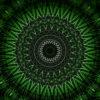 star rendering of a cogwheel formed tunnel needles_vj_loops_Layer