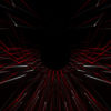 wormhole star needles 3d rendering of a formed tunnel_vj_loops