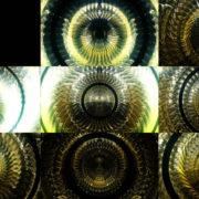 Gleaming-Golden-open-Eye-liquid-dimensional-light-effect-on-motion-background-Video-Art-VJ-Loop VJ Loops Farm