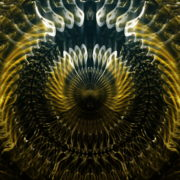vj video background Gleaming-Golden-open-Eye-liquid-dimensional-light-effect-on-motion-background-Video-Art-VJ-Loop_003