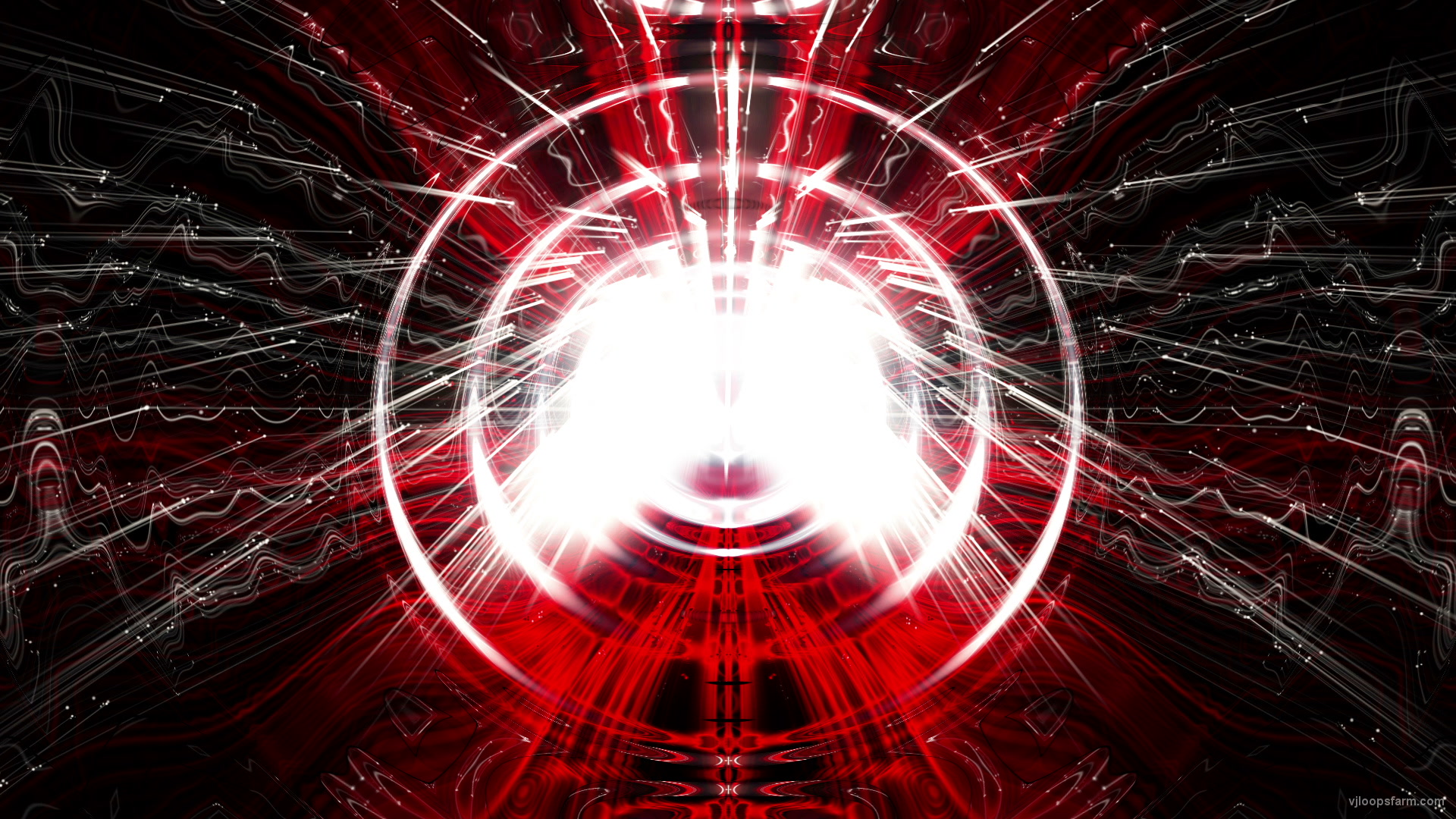 vj video background Bright-Red-Glowing-dimensonal-orb-effect-on-motion-background-VJ-Loop_003
