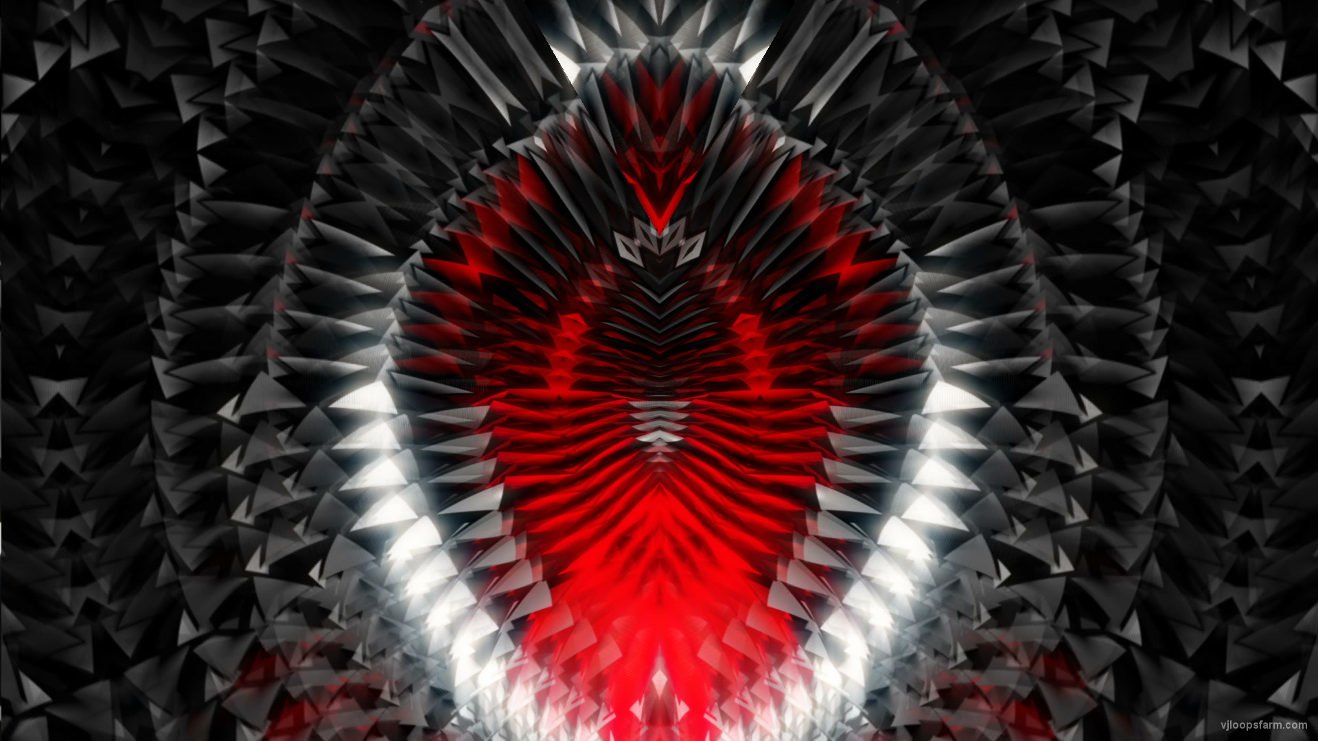 vj video background Evil-Tooth-Geometry-Radial-Stage-Cat-Eye-Video-Art-VJ-Loop-2_003