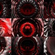 Fat-Red-Transformer-Circle-Stage-Video-Art-VJ-Loop VJ Loops Farm
