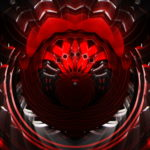 vj video background Fat-Red-Transformer-Circle-Stage-Video-Art-VJ-Loop_003