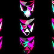 Glowing-light-Polygon-strobe-3d-mask-vj-loop VJ Loops Farm