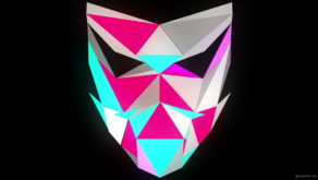 vj video background Glowing-light-Polygon-strobe-3d-mask-vj-loop_003