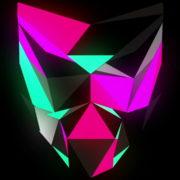 Glowing-light-Polygon-strobe-3d-mask-vj-loop_006 VJ Loops Farm