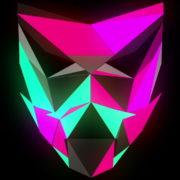 Glowing-light-Polygon-strobe-3d-mask-vj-loop_007 VJ Loops Farm