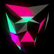 Glowing-light-Polygon-strobe-3d-mask-vj-loop_009 VJ Loops Farm