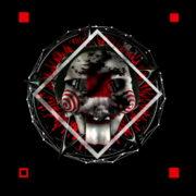 Halloween-Saw-and-penta-Animation-of-Digital-Human-Head-on-Colorful-Noisy-Motion_004 VJ Loops Farm