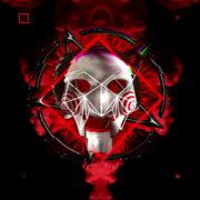 Halloween-Saw-and-penta-Animation-of-Digital-Human-Head-on-Colorful-Noisy-Motion_008 VJ Loops Farm