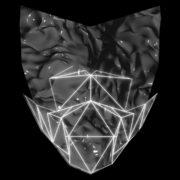vj video background Poly-masking-Polygonal-strobe-colorful-3d-lines-mask-in-pink-vj-loop_003