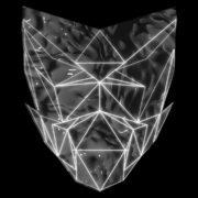 Poly-masking-Polygonal-strobe-colorful-3d-lines-mask-in-pink-vj-loop_004 VJ Loops Farm